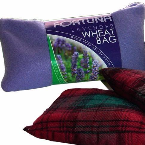 Bolsa calor semillas aroma lavanda lila