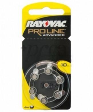 Pilas audifono Rayovac Proline Amarillo 10
