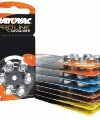 Pilas audífono Rayovac Proline naranja 13