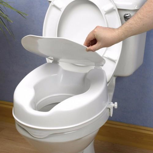 Elevador de WC 10 cm con tapa