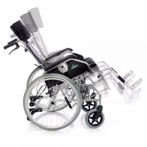 Silla de ruedas plegable basculante 1462SR