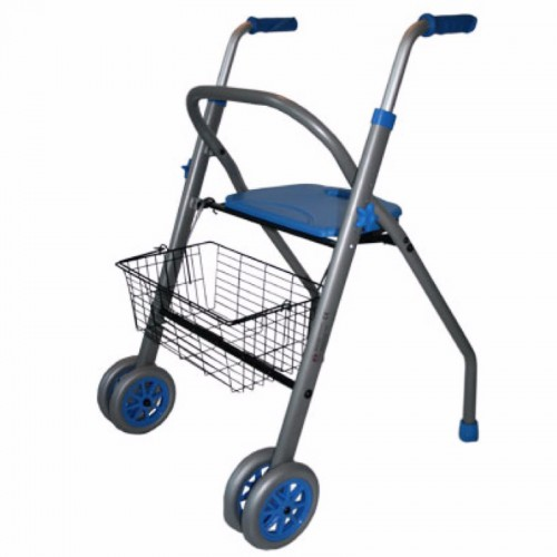 Caminador alba azul easy way (imagen sin ruedas basculantes)