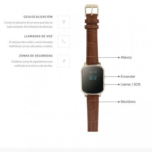 Reloj localizador de personas GPS alzheimer