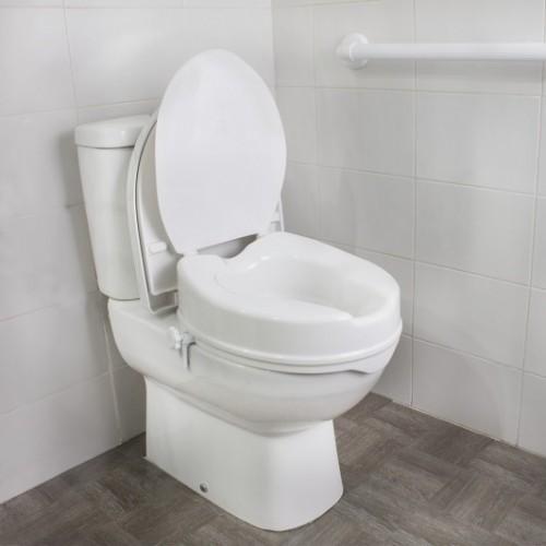 Elevador de WC 5 cm con tapa