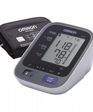 tensiómetro Omron M6 AC con adaptador y termómetro de regalo
