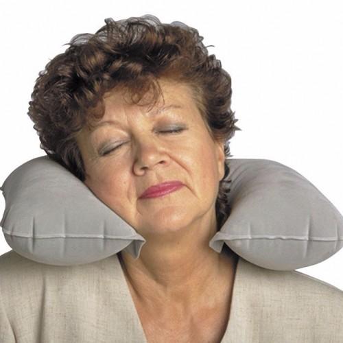 Almohada cervical viaje inflable Ortopedia Premià