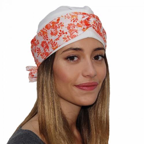 Pañuelo de seda belle turbant.