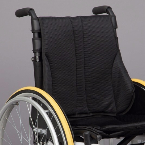 Respaldo con soporte lumbar silla activa ergo live