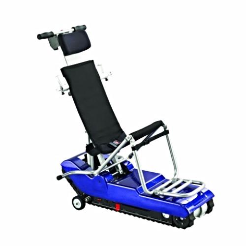 Oruga salvaescaleras sin silla o con silla de ruedas