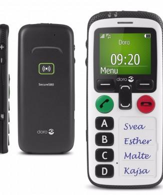 Teléfono movil doro 580iup localizador gps