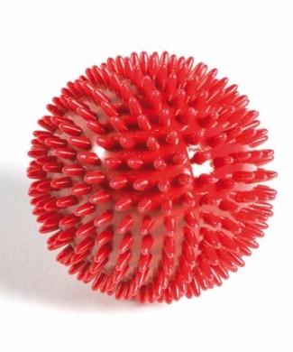 Pelota de masaje con pinchos roja 9 cm