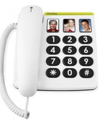 Teléfono fijo  DORO 331PH con fotos