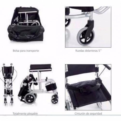 Detalles y complementos silla mini trans