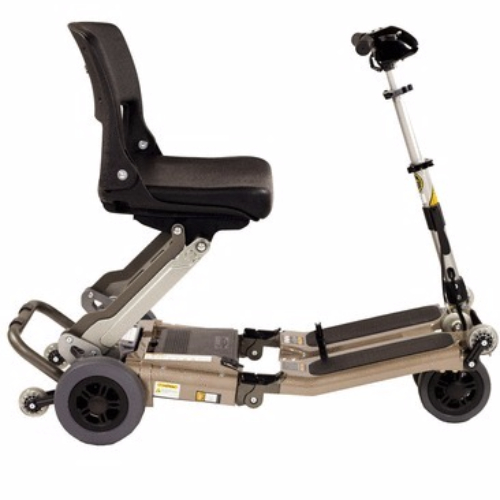 Scooter plegable luggie animación