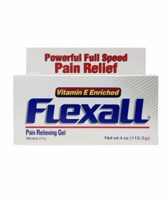 Gel flexall 113 g 4oz menthol