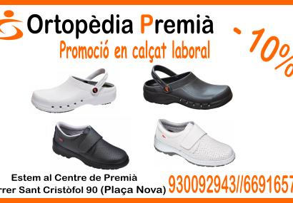 promoción zuecos ortopedia Premià Mataró