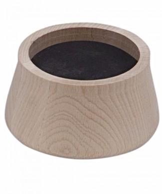 Alza pata de elefante alza muebles de madera 4 unidades AD585