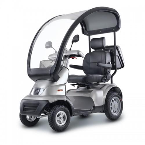 Afiscooter S4 con capota protectora opcional