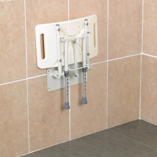 Asiento abatible para ducha AD583D plegado