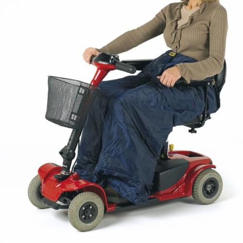 Saco para piernas, scooter o silla de ruedas.