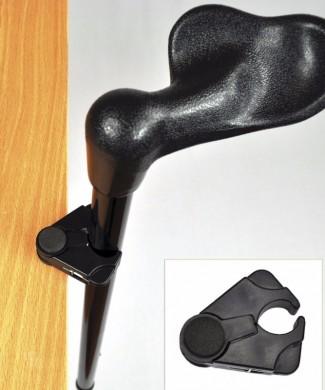 Soporte para bastones y muletas