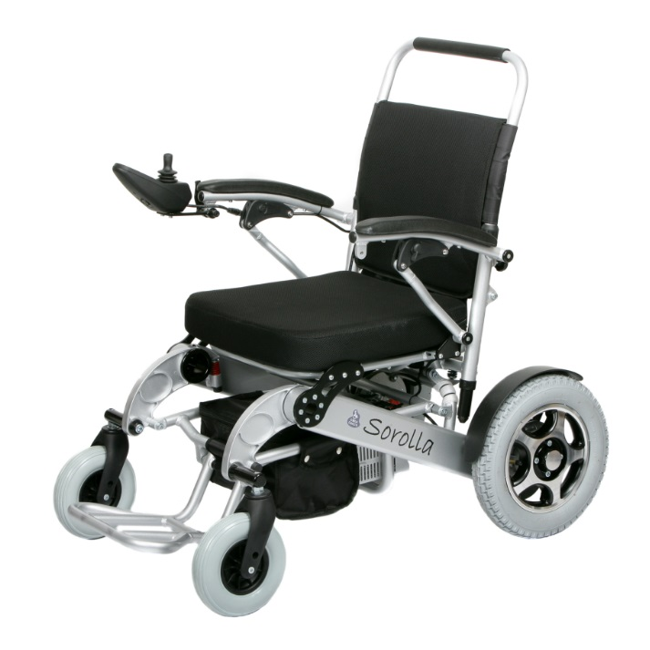 silla de ruedas electrica plegable spa 250w