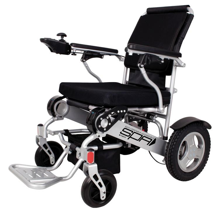 Silla de ruedas electrica plegable spa 250w rueda 315 ortopedia premi ortopedia y ayudas - Sillas de ruedas electricas ...