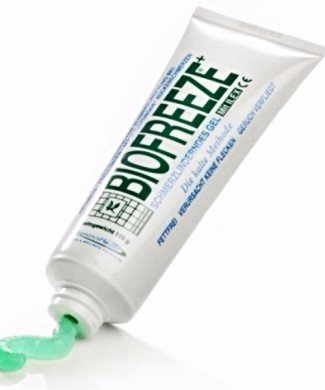 Biofreeze gel frio tubo
