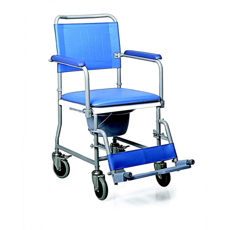 Silla de ducha con wc con ruedas ort22049 ortopedia premi ortopedia y ayudas t cnicas junto - Sillas de ruedas estrechas ...