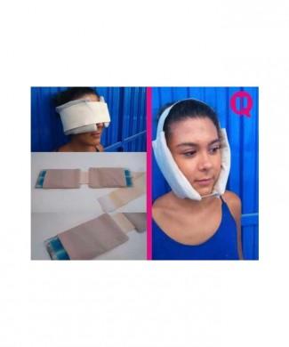 Bolsa frio maxilofacial UBIO 2 bolsas + banda de sujección