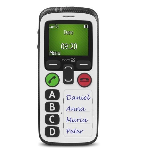 Doro 580 secure, teléfono con localizador GPS