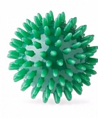 Pelota pinchos de masaje y rehabilitación 5 cm, verde