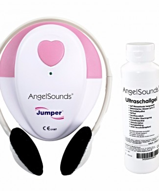 Aparato latidos embarazo angelsounds con gel