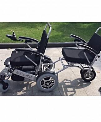Trailcar para silla Sorolla: Silla de ruedas remolque para silla eléctrica