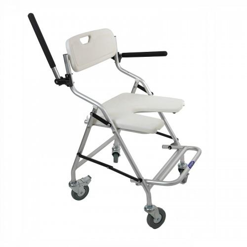 Sillas de ruedas para la ducha y ba o en ortopedia premi - Sillas de ruedas estrechas ...