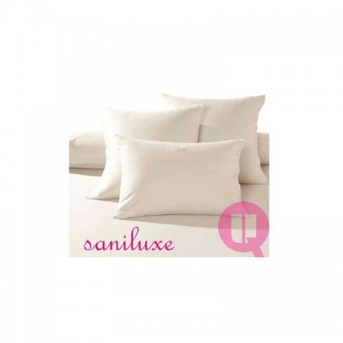 Funda de almohada antiácaros poliuretano color blanco