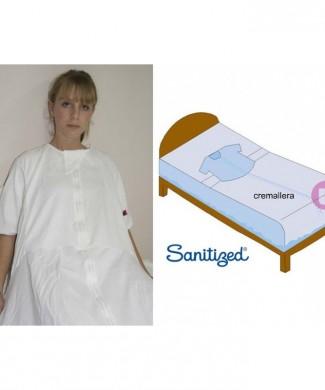 Sábana sujección manga corta anti pañal para cama 90 cm
