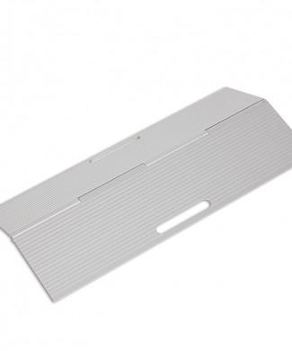 Rampa de aluminio portátil plegable
