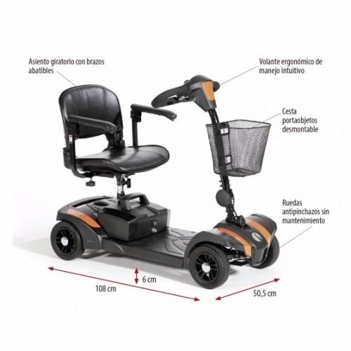 Medidas scooter VEO