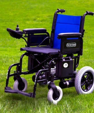 Silla Power chair litio desplegada