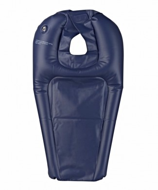Lavacabezas inflable transportable para silla