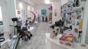 Ortopedia Premià zona de exposición