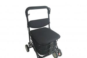 Caminador carrito de la compra con asiento