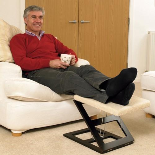 Reposapiés plegable para silla o butaca
