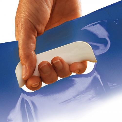 Porta bolsas de plástico para manos con dolor