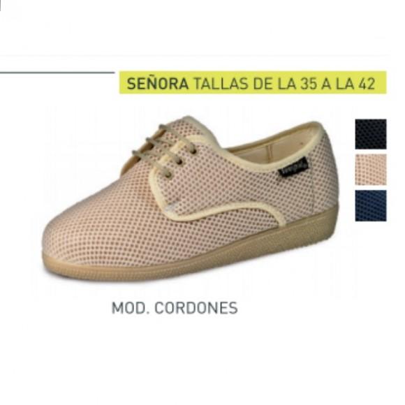 Zapato Tovipie blandipie calado con cordones