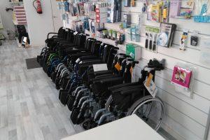 sillas de ruedas Catsalut
